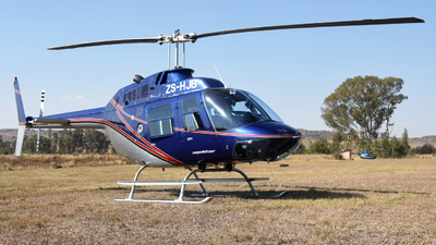 ZS-HJB - Bell 206B JetRanger III - Private