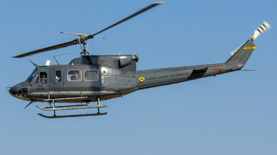 FAC4019 - Bell 212 - Colombia - Air Force
