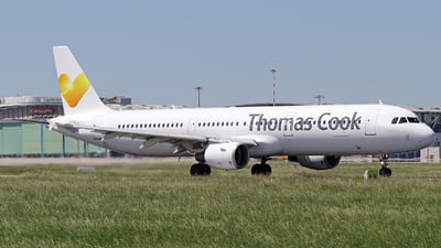 LY-VEE - Airbus A321-212 - Thomas Cook Airlines (Avion Express)