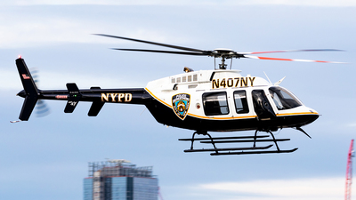 N407NY - Bell 407 - United States - New York City Police