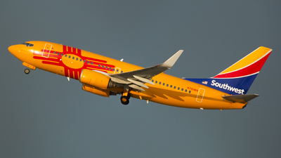A picture of N781WN - Boeing 7377H4 - Southwest Airlines - © Dwight Hartje