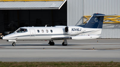 N244LJ - Bombardier Learjet 35A - Private