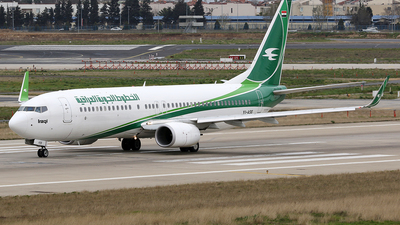 YI-ASE - Boeing 737-81Z - Iraqi Airways