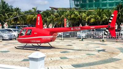 B-7526 - Robinson R44 Clipper II - Hainan Sanya Yalong General Aviation Co