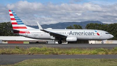 A picture of N813NN - Boeing 737823 - American Airlines - © Juan Manuel Galvez