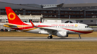 D-AVWD - Airbus A319-115 - Chengdu Airlines