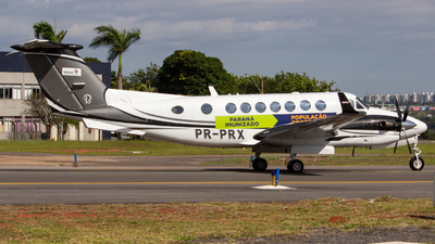 PR-PRX - Beechcraft B300 King Air 350i - Brazil - Government of Parana