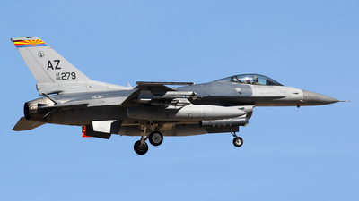 86-0279 - Lockheed Martin F-16C Fighting Falcon - United States - US Air Force (USAF)