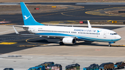 A picture of B5792 - Boeing 73785C - Xiamen Air - © Wenbin Lin