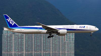 A picture of JA784A - Boeing 777381(ER) - All Nippon Airways - © Chow Kin Hei - AHKGAP