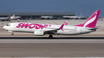 A picture of CFYPB - Boeing 7378CT - Swoop - © Yixin Chen