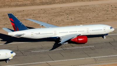 N703DN - Boeing 777-232LR - Untitled