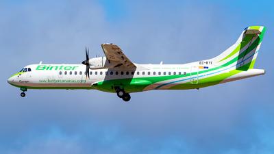 A picture of ECKYI - ATR 72500 - Binter Canarias - © Pawel Wedrychowicz