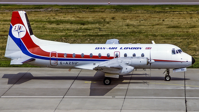 G-AZSU - Hawker Siddeley HS-748 - Dan-Air London