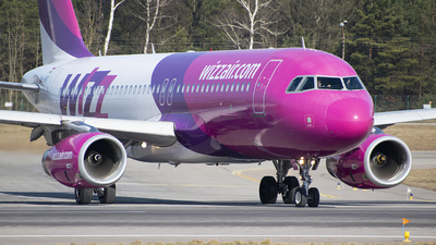 HA-LWX - Airbus A320-232 - Wizz Air
