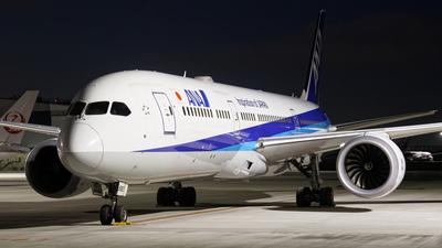JA890A - Boeing 787-9 Dreamliner - All Nippon Airways (Air Japan)