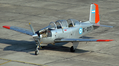 E-017 - Beechcraft T-34A Mentor - Argentina - Air Force