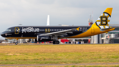 A picture of N632JB - Airbus A320232 - JetBlue Airways - © Alonso Cisneros