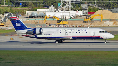 N410AW - Bombardier CRJ-200ER - US Airways Express (Air Wisconsin)