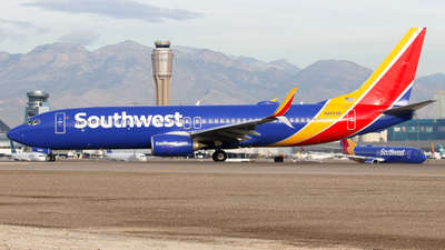 N8654B - Boeing 737-8H4 - Southwest Airlines