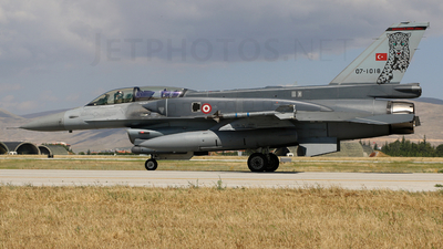 07-1018 - Lockheed Martin F-16D Fighting Falcon - Turkey - Air Force