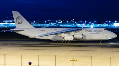 UR-ZYD - Antonov An-124-100 Ruslan - Maximus Air Cargo