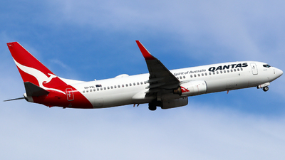 A picture of VHVXL - Boeing 737838 - Qantas - © Robbie Mathieson