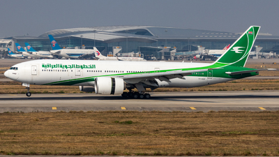 A picture of YIAQZ - Boeing 77729M(LR) - Iraqi Airways - © Jerry_Hammer