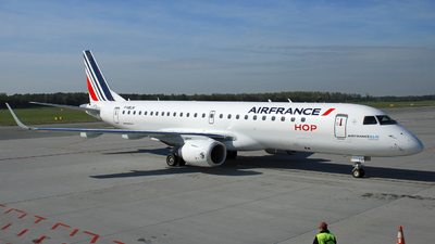 F-HBLM - Embraer 190-100STD - HOP! for Air France