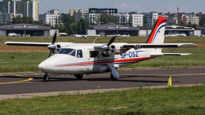 A picture of SPOSZ - GippsAero GA8 Airvan - [GA8TC32012182] - © Stefan Mieszkowski