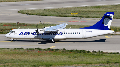 A picture of FGRPZ - ATR 72500 - Air Corsica - © bertrand leduc