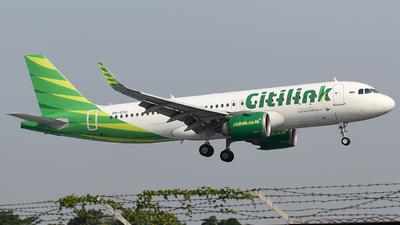 PK-GTD - Airbus A320-251N - Citilink