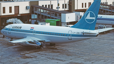 LX-LGH - Boeing 737-2C9(Adv) - Luxair - Luxembourg Airlines