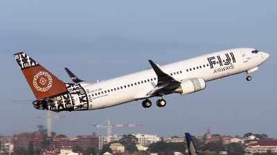 DQ-FJM - Boeing 737-86J - Fiji Airways