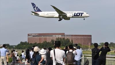 RJAA - Airport - Spotting Location