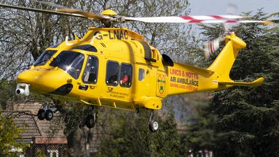 G-LNAC - Agusta-Westland AW-169 - Lincoln and Nottingham Air Ambulance Trust