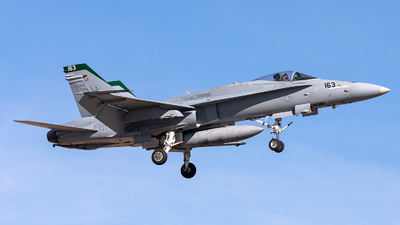 164718 - McDonnell Douglas F/A-18C Hornet - United States - US Marine Corps (USMC)