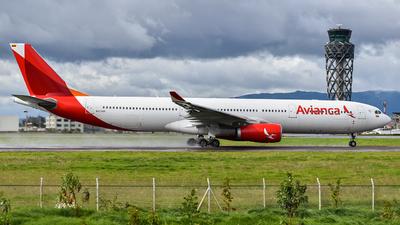 N804AV - Airbus A330-343 - Avianca