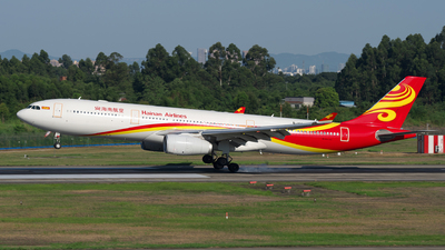 A picture of B1096 - Airbus A330343 - Hainan Airlines - © baobao723
