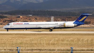 HS-MDK - McDonnell Douglas MD-82 - Orient Thai Airlines