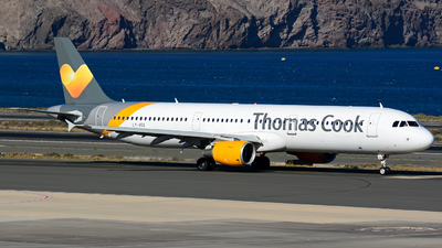 LY-VEG - Airbus A321-211 - Thomas Cook Airlines
