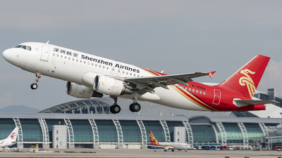 B-9908 - Airbus A320-214 - Shenzhen Airlines