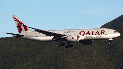 A picture of A7BFQ - Boeing 777F - Qatar Airways - © Ching Ho