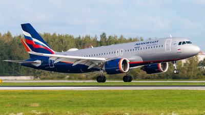 VP-BPR - Airbus A320-251N - Aeroflot