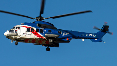 G-ZZSJ - Eurocopter EC 225LP Super Puma II+ - Bristow Helicopters