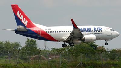 A picture of PKNAJ - Boeing 737524(WL) - Nam Air - © Muhammad Aria Alauddin