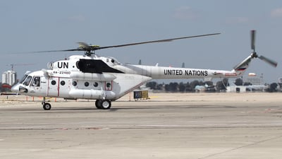 RA-22480 - Mil Mi-8AMT Hip - United Nations (UN)