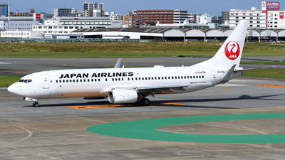 A picture of JA339J - Boeing 737846 - Japan Airlines - © HIroki Manabe