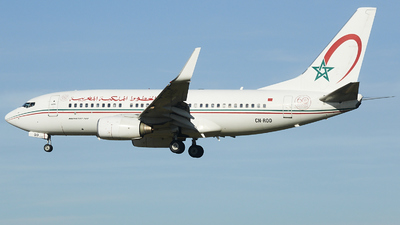 CN-ROD - Boeing 737-7B6 - Royal Air Maroc (RAM)
