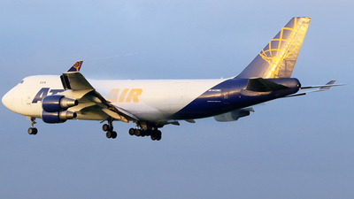 A picture of N408MC - Boeing 74747UF - Atlas Air - © Jeroen Stroes